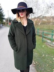 Kabáty - Oversize kabát ALPAKA - 11289006_