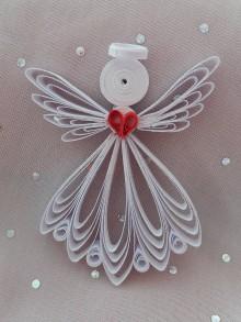 Dekorácie - Anjelik - 11288074_