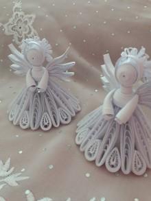 Dekorácie - Anjel 3D :-) - 11288199_