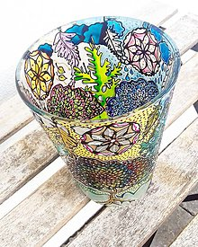 Nádoby - Svietnik alebo váza - 11288537_