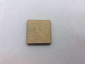 Nezaradené - Tvar vyrezaný laserom - štvorec - 11290807_