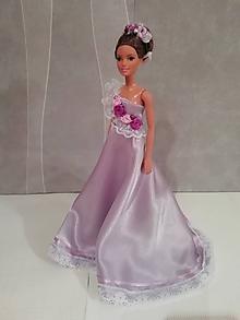 Hračky - Šaty pre bábiku Barbie - 11293041_