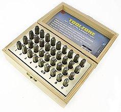 Pomôcky/Nástroje - ABECEDA na razenie 3mm 36kusov  - 11290366_