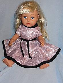 Hračky - šaty pre baby born sister 43 cm - 11292837_