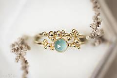 Prstene - Zlatý prsteň - Bokeh Gold Mini - 11292182_