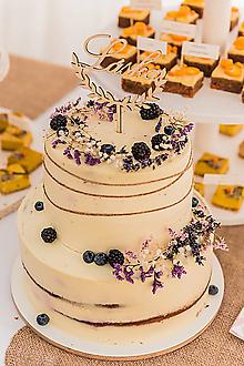 Dekorácie - Zápich na tortu  - láska - 11292201_