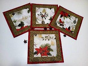 Úžitkový textil - Vianočné prestieranie - 11293097_