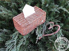 Krabičky - Obal na papierové obrúsky 24x12x10 - 11291453_