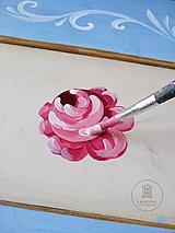 Nábytok - Ručne maľovaná posteľ (rôzne veľkosti) - 11291237_