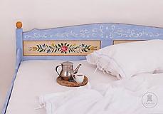 Nábytok - Ručne maľovaná posteľ (rôzne veľkosti) - 11291311_