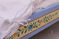 Nábytok - Ručne maľovaná posteľ (rôzne veľkosti) - 11291312_