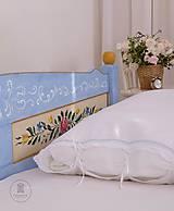 Nábytok - Ručne maľovaná posteľ (rôzne veľkosti) - 11291315_