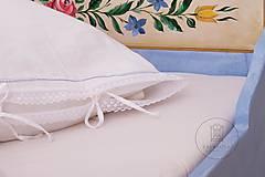Nábytok - Ručne maľovaná posteľ (rôzne veľkosti) - 11291316_