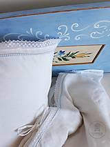 Nábytok - Ručne maľovaná posteľ (rôzne veľkosti) - 11291321_