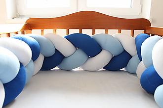 Detské doplnky - Zapletanec Modruško, dĺžka 50-500cm - 11292511_