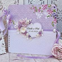 Papiernictvo - Svadobný fotoalbum - 11293407_