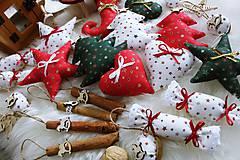 Dekorácie - Vianočná sada na stromček - 11290945_