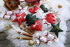 Dekorácie - Vianočná sada na stromček - 11290946_