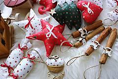 Dekorácie - Vianočná sada na stromček - 11290947_