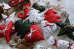 Dekorácie - Vianočná sada na stromček - 11290948_