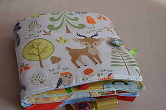 Hračky - Látková detská knižka - 11291035_