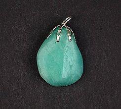 Iné šperky - Amazonit p111 - 11289840_