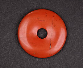 Iné šperky - Jaspis červený p146 - 11289904_