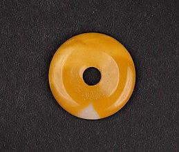 Iné šperky - Jaspis žltý p165 - 11289966_