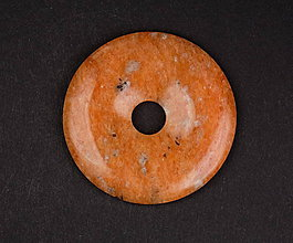 Iné šperky - Kalcit oranžový p167 - 11289975_