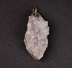 Iné šperky - Krištáľ drúza p173 - 11290035_