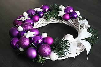 Dekorácie - Vianočný veniec - 11291987_