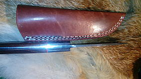 Nože - Damaskový lovecký nôž - 11291966_