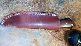 Nože - Damaskový lovecký nôž - 11291967_