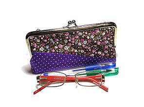 Taštičky - taštička na okuliare/perá/kozmetiku - 11292255_