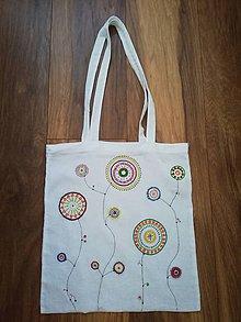 Nákupné tašky - Nákupná mandala taška - 11292108_