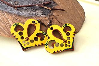 Náušnice - náušnice jesenný folk III - 11290539_