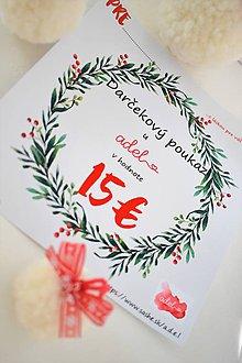Darčekové poukážky - -Darčekový poukaz/Vianoce- - 11290380_