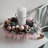 Dekorácie - Vianočný svietnik - sánky - 11292068_