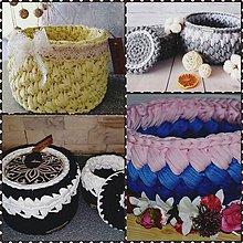Drobnosti - Košíky rôzne druhy - 11290122_
