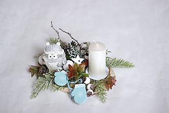 Dekorácie - Svietnik vianočný2 - 11290081_