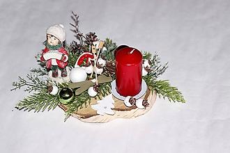 Dekorácie - Svietnik vianočný3 - 11291069_