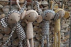 Hračky - pre detičky.... krásne opičky - 11290628_
