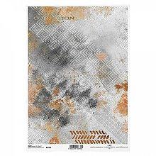 Papier - Ryžový papier R1586 - A4 - 11293030_