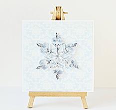Papiernictvo - vianočná pohľadnica - 11293331_