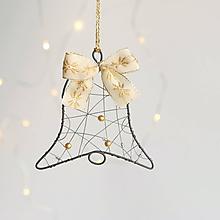 Dekorácie - vianočné dekorácie zlatá - 11295136_