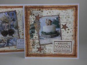 Papiernictvo - Vianočná pohľadnica - 11294137_