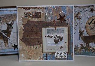 Papiernictvo - Vianočná pohľadnica - 11294198_