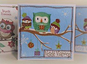 Papiernictvo - Vianočná pohľadnica - 11294785_