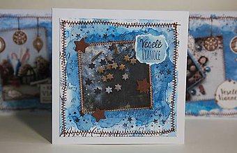 Papiernictvo - Vianočná pohľadnica - 11294873_