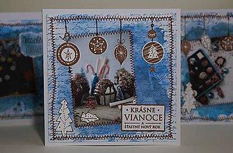 Papiernictvo - Vianočná pohľadnica - 11294886_